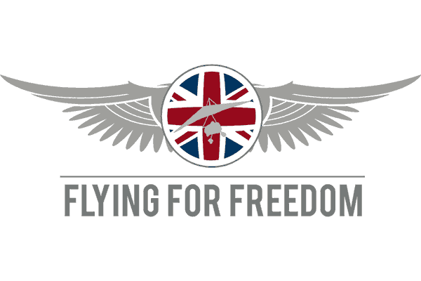 Flying for Freedom Logo Vector PNG