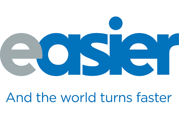 Easier by Blue Systems Logo Vector PNG