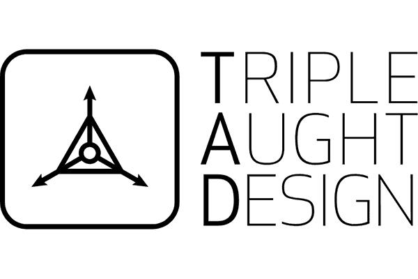 Triple Aught Design Logo Vector PNG