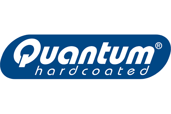 Quantum Hardcoated Logo Vector PNG