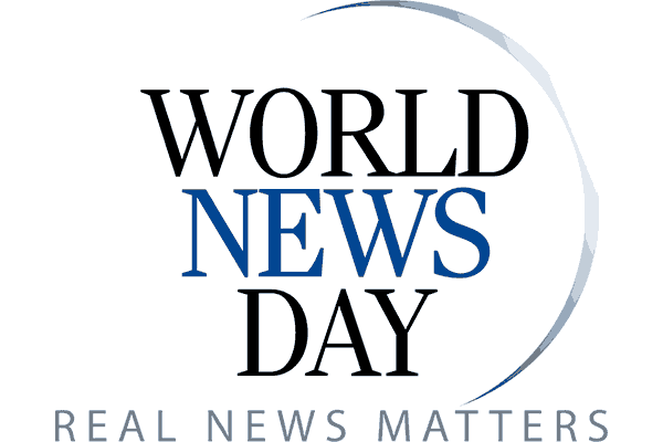 World News Day Logo Vector PNG