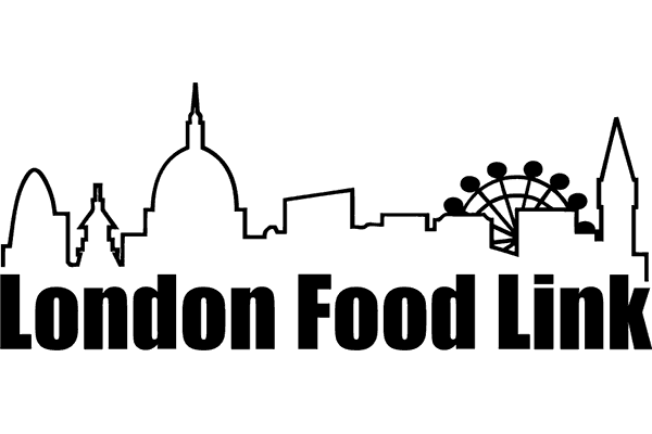 London Food Link Logo Vector PNG