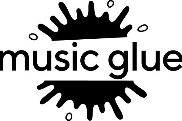 Music Glue Logo Vector PNG