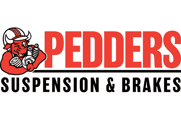 Pedders Suspension and Brakes Logo Vector PNG