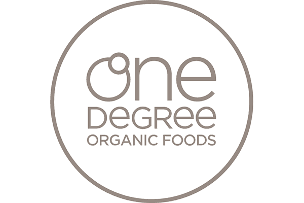 One Degree Organic Foods Logo Vector PNG