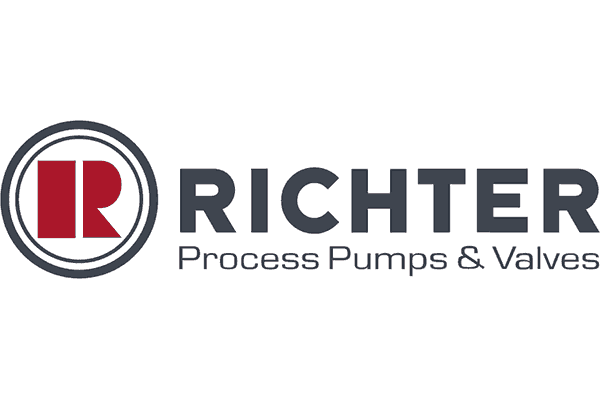 Richter Pumps and Valves, Inc. Logo Vector PNG