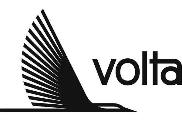 Volta Charging Logo Vector PNG