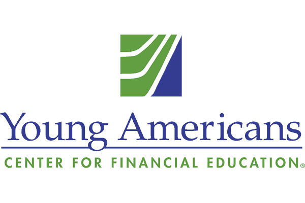 Young Americans Center for Financial Education Logo Vector PNG
