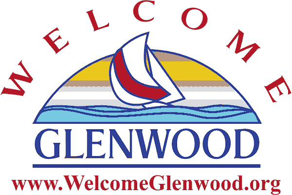 Glenwood Lakes Area Welcome Center Logo Vector PNG