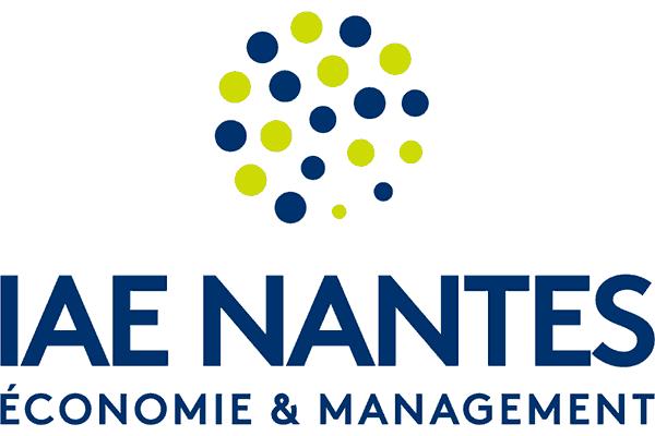 IAE Nantes – Économie & Management Logo Vector PNG