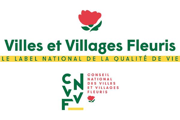 Villes et Villages Fleuris Logo Vector PNG