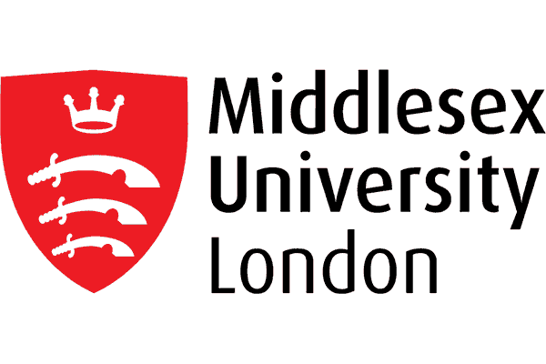 Middlesex University London Logo Vector PNG