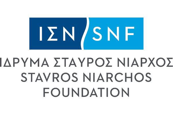 Stavros Niarchos Foundation (SNF) Logo Vector PNG