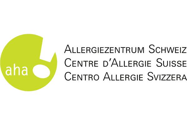 aha! Allergiezentrum Schweiz Logo Vector PNG