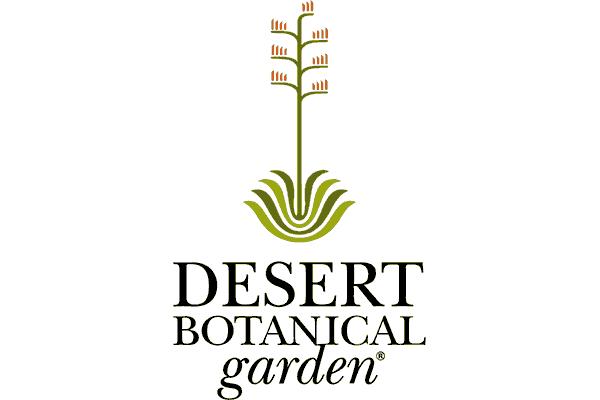 Desert Botanical Garden Logo Vector PNG