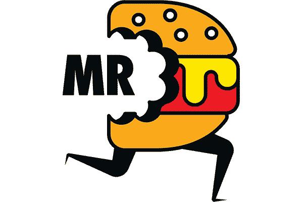 Mr D Food Logo Vector PNG