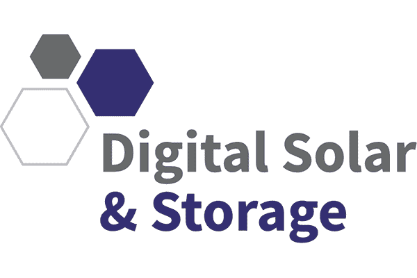 Digital Solar and Storage Logo Vector PNG