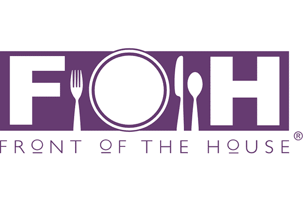 Front of the House (FOH) Logo Vector PNG