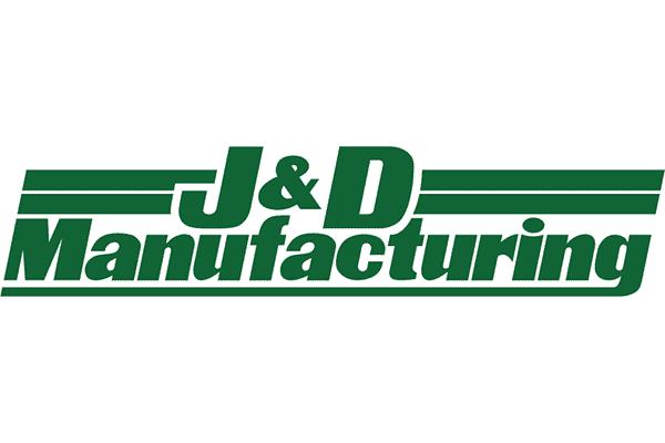 J&D Manufacturing Logo Vector PNG