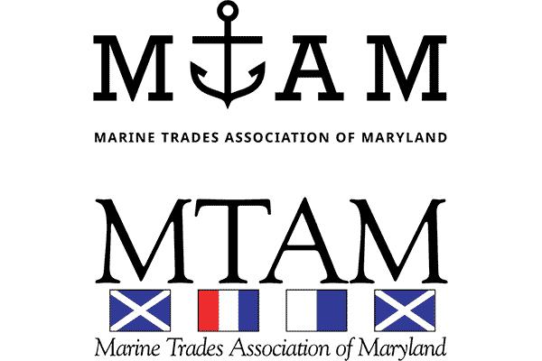Marine Trades Association of Maryland (MTAM) Logo Vector PNG