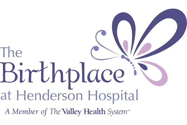 The Birthplace at Henderson Hospital Logo Vector PNG