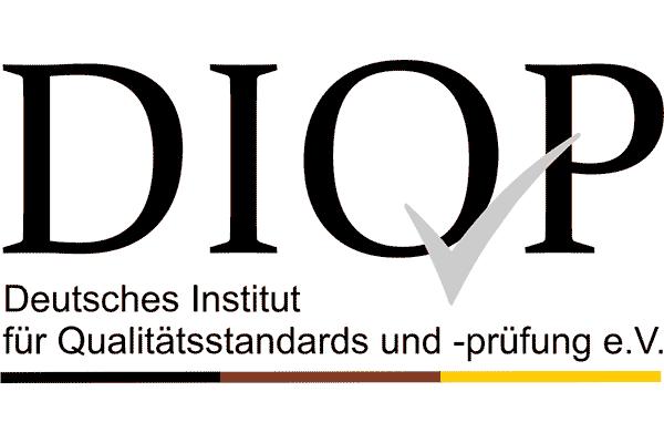 DIQP Deutsches Institut für Qualitätsstandards und -prüfung e. V. Logo Vector PNG
