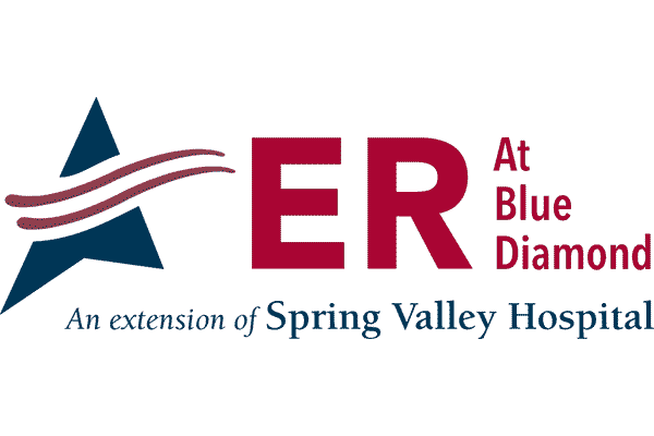 ER at Blue Diamond Logo Vector PNG