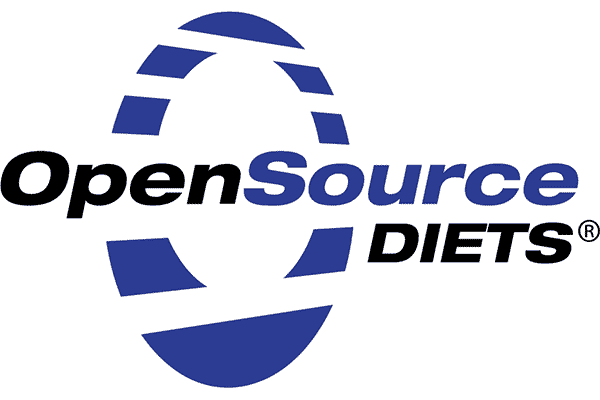 OpenSource Diets Logo Vector PNG
