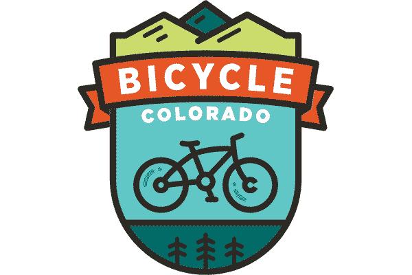 Bicycle Colorado Logo Vector PNG