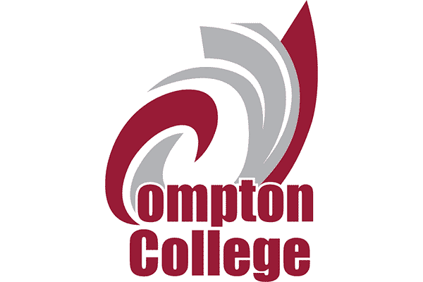 Compton College Logo Vector PNG
